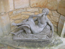 Leda-and-the-swan-at-Hever-Castle-Kent-England